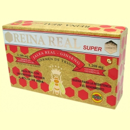 Reina Real Super - Jalea Real - 20 ampollas - Robis