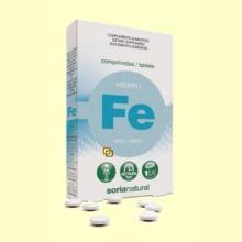 Hierro - 32 comprimidos - Soria Natural