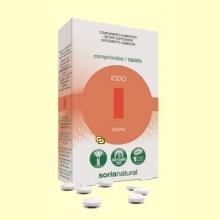 Iodo - 48 comprimidos - Soria Natural
