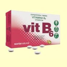 Vitamina B6 - 48 comprimidos - Soria Natural