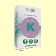 Potasio Retard - 20 comprimidos - Soria Natural *