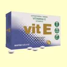 Vitamina E - 48 comprimidos - Soria Natural