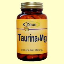 Taurina + Magnesio - 60 cápsulas - Zeus Suplementos
