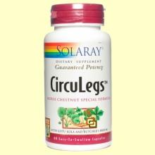 Circulegs - 60 cápsulas - Solaray