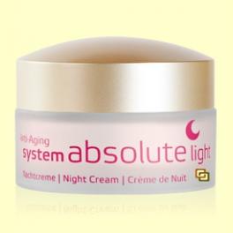 System Absolute Crema de Noche Light - 50 ml - Anne Marie Börlind