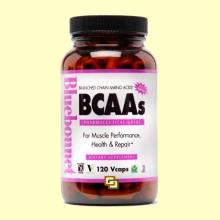 BCAAs - 120 cápsulas vegetales - Bluebonnet