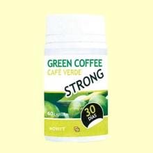 Green Coffee Strong - Café verde - 60 cápsulas - Novity *