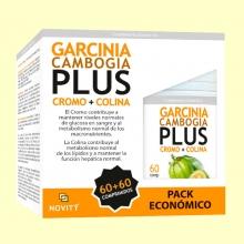 Garcinia Cambogia Plus Pack Económico - Apetito - 120 comprimidos - Novity *