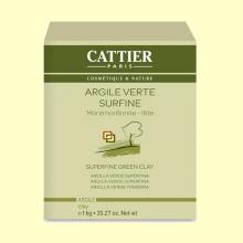 Arcilla Verde Superfina - 1 kg - Cattier