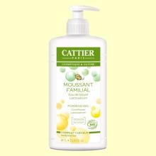 Gel de Baño Espumoso Familiar - Cabello y cuerpo - 1 litro - Cattier