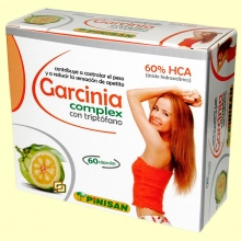 Garcinia Complex - 60 cápsulas - Pinisan Laboratorios