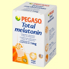 Total Melatonin - Melatonina 1 mg - 180 comprimidos - Pegaso