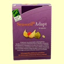 Sensoril Adapt - Ashwagandha - 60 cápsulas - 100% Natural