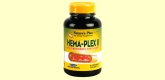 Hema-Plex II - Complejo de hierro - 60 comprimidos - Natures Plus