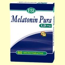Melatonin Pura 1,9 mg - Melatonina - 60 microtabletas - Laboratorios Esi