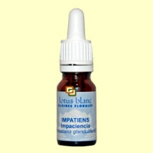 Impaciencia - Impatiens - 10 ml - Lotus Blanc