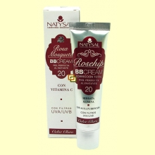 Rosa Mosqueta BB cream - Color Claro - 30 ml - Natysal