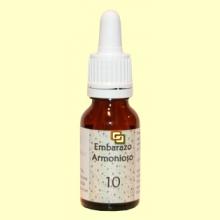 10 Embarazo Armonioso - Preparado floral - 15 ml - Lotus Blanc