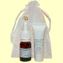 Set Crema Esencia de Flores 10 ml y Elixir Remedio de Urgencia 10 ml - Lotus Blanc