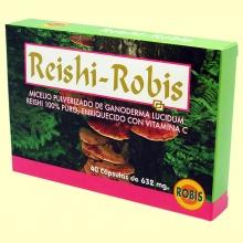 Reishi - 40 cápsulas - Robis