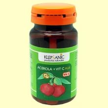 Acerola + Vitamina C Plus - 60 comprimidos masticables - Klepsanic