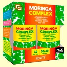 Moringa Complex - 30 + 30 cápsulas - Novity *