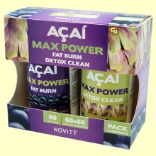 Açaí Max Power - 60 + 60 cápsulas - Novity