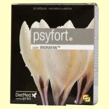 Psyfort con Iridrafan - 30 cápsulas - DietMed