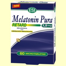 Melatonin Retard 1,9 mg - Melatonina - 60 microtabletas - Laboratorios Esi