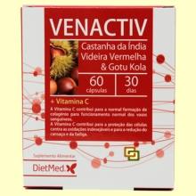 Venactiv - Piernas cansadas - 60 cápsulas - Dietmed