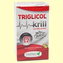 Triglicol Krill - 30 cápsulas - Dietmed