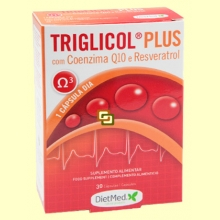 Triglicol Plus - 30 cápsulas - Dietmed