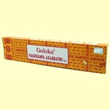 Nagchampa Agarbathi - 16 gramos - Goloka