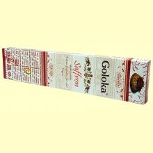 Incienso Saffron - 15 gramos - Goloka