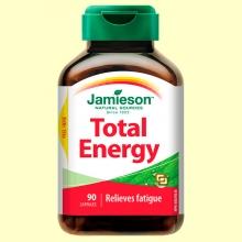Total Energy - Energético - 90 cápsulas - Jamieson