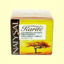 Manteca de Karité Ecológica 100 % Pura - 50 ml - Natysal