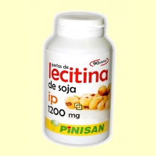 Perlas de Lecitina de Soja - 1200 mg - 90 perlas - Pinisan
