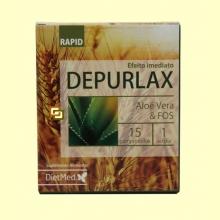 Depurlax Rapid - 15 comprimidos - DietMed