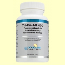 Tri-En-All 400 (400 ui Vitamina E) - 60 perlas - Laboratorios Douglas