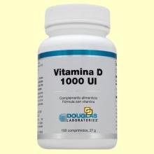 Vitamina D 1000 ui (colicalciferol) - 100 comprimidos - Laboratorios Douglas