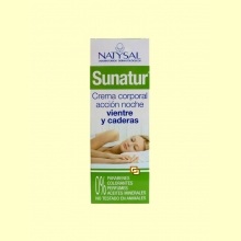 Sunatur Crema Corporal Reductora Acción Noche Vientre y Caderas - 200 ml - Natysal