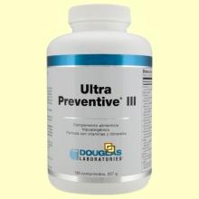 Ultra Preventive III - 180 comprimidos - Laboratorios Douglas