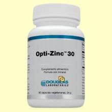 Opti-Zinc™ 30 - 90 cápsulas vegetarianas - Laboratorios Douglas
