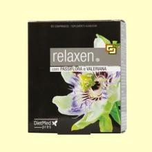 Relaxen con Valeriana y Pasiflora - 60 comprimidos - Dietmed *
