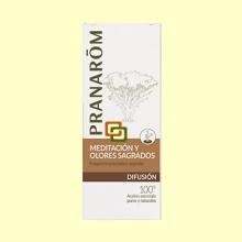 Meditación y olores sagrados - Diffusion - 30 ml - Pranarom