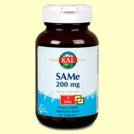 SAMe 200 mg - 30 comprimidos - Laboratorios Kal