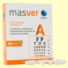 Masver - Vitamina A - 30 cápsulas - Mahen
