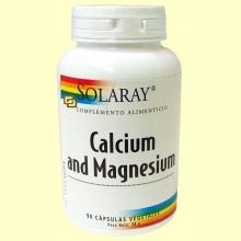 Calcium & Magnesium - 90 cápsulas - Solaray