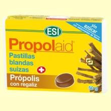 Propolaid Caramelos Sabor Regaliz - 50 gramos - Laboratorios ESI