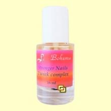 Endurecedor para las uñas Stronger Nails Complex - Bohema - 16 ml
